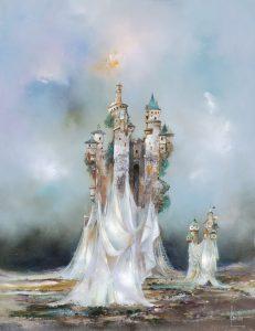 Les châteaux plissés