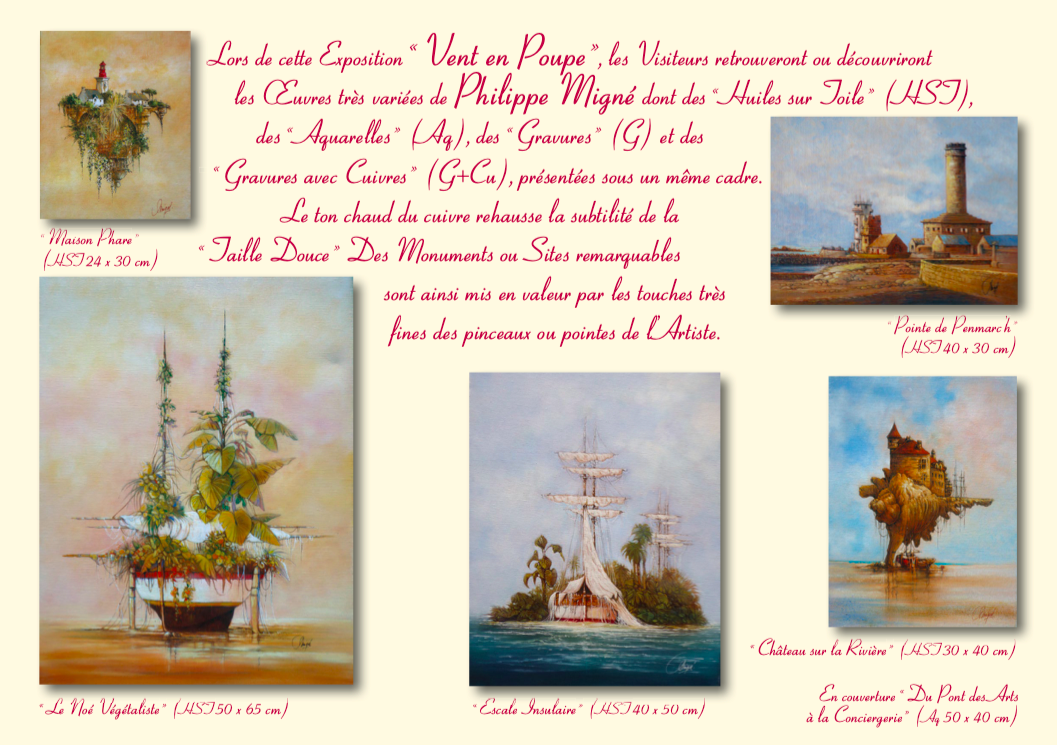 EXPOSITION PHILIPPE MIGNÉ PAGE 1