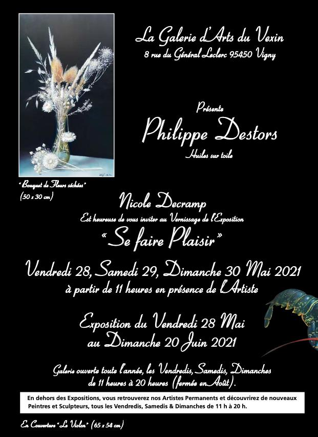 EXPOSITION PHILIPPE DESTORS