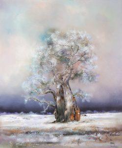 l'arbre au violon