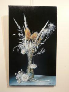 Bouquet de Fleurs séchées 50x30