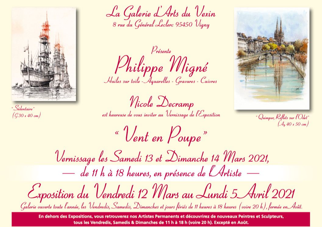 EXPOSITION PHILIPPE MIGNÉ PAGE 2